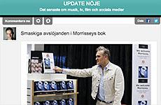 Premiär för Update Nöje – Dagens snackisar i direktrapportering
